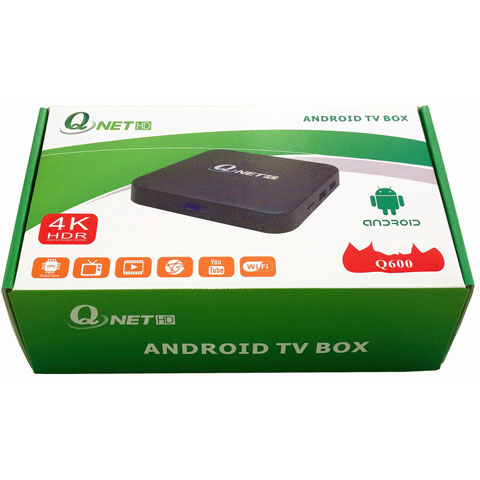 Q600-A-QNetTV,4K/64bit Quad-core IPTV box with QNet Arabic+African+Turkey....live TV and VOD
